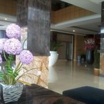 hotel hall area