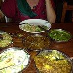 Notre repas au Ambadi,Kumily