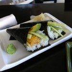 Hand rolls at Yoi Sushi Bar