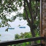 View from hillside verandah