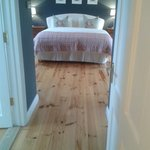 large queen sized bed and ensuite room