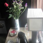Flowers in the bedroom