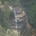 Bridal Veil Falls - bushwalked (slowly) to here in about  2hrs directly from Shelton