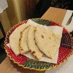 Nan bread light baked in tandoor....