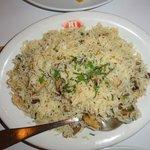 Rice with mushrooms...