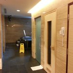 Change rooms/Sauna/Spa