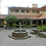 Innenhof Hotel Jose Antonio