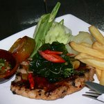Thai basil steak