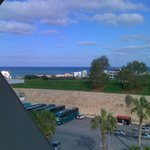 the venetian walls and the sea from our balcony