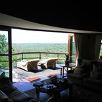 Cliff Lodge Deck with Plunge Pool