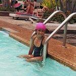 Auch für Kinder ein idealer Pool.
