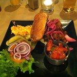 Pulle pork burger