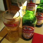 Mmm, Kingfisher beer