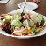 Mista Salad with Chicken