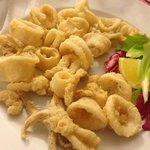 Lightly Fried Calamari. Sooooo good!
