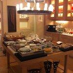 beautiful breakfast buffet!