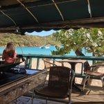 The beach side bar