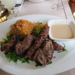 The compolaint - Kabab & Kofta - lamb was chewy & worse still burnt all along the edges. Couldn'