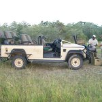 Landrovers used for Safari Drives