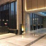 Sofitel Hotel lobby