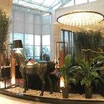 Sofitel Hotel foyer