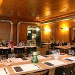 Essen und Trinken im Restaurant oder Stübli