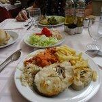Mustra del buffet en el hotel Balmoral