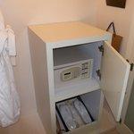 cassaforte nella cabina-armadio