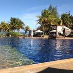 Main Swimming Pool at Tanjong Jara Resort