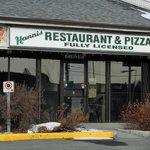 Hanni's Restauranta & Pizza, March 2013