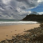 2013 03 24 Burgau Beach, looking towards the Beach Bar