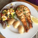 2013 03 24 Burgau Beach - Salmon Main course Special