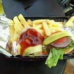 Hu-mungo grilled chicken platter