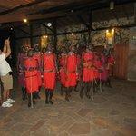 Maasai dance show