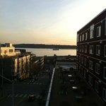 Sunset over Elliott Bay