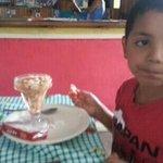 Gaby con un Delicioso Ceviche