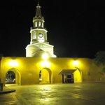 Cartagena di notte, centro storico, a due passi dal nostro penthouse