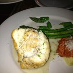 Lobster Stuffed Rock Fish Fillet