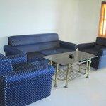 Inside VIP Cottage...