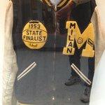 Milan High School Varsity Jacket from the 1950's
