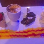 The Chef's Selection of desserts