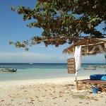 spiaggia del Resort e massaggi