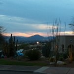 View of Tucson from the hotel