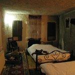Cozy cave room