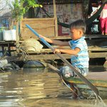 Young boy in Kompong Luong