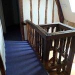 l'escalier du XVIIème siècle