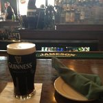 Perfectly poured Guiness!