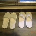 [room 603] bedroom slippers...