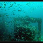 A shipwreck in Tarifa