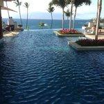The infinity pool...